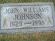 Profile photo:  John Williams Johnson