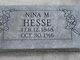 Nina <I>Mossberger</I> Hesse