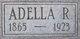 Profile photo:  Adella Josephine <I>Rounds</I> Rogers