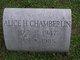 Alice Holmes Chamberlin
