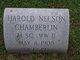 Harold Nelson Chamberlin