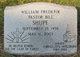 """Rev William Frederik """"Bill"""" Shupe"""
