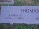 "Aaron ""Roaring"" Thomas, II"