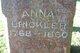 Profile photo:  Anna Brickler