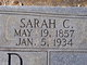 Profile photo:  Sarah Ann <I>Cox</I> Hood