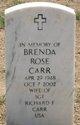 Profile photo:  Brenda Rose Carr