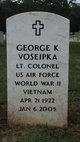 LTC George Kenneth Voseipka