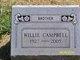 Willie <I> </I> Campbell,