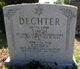 Esther <I>Becker</I> Dechter