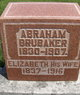 Profile photo:  Abraham F. Brubaker