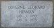 Profile photo:  Luverne <I>Leonard</I> Hinman