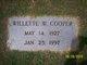 Willette W. Cooper