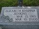 Profile photo:  Elizabeth <I>Hodson Knepper</I> Jenkins