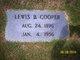 Lewis Bartow Cooper, Sr