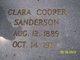 Clara Lynn <I>Cooper</I> Sanderson