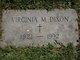 Virginia M Dixon