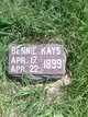 Profile photo:  Bennie Kays