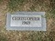 Profile photo:  Christopher