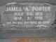 James Albert Porter