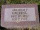 "Abraham Peter ""Abe"" Quiring"