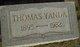 Thomas Henry Yanda