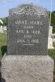 Profile photo:  Jane B <I>Gratrix</I> Hare