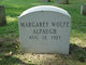 Profile photo:  Margaret <I>Wolfe</I> Alpaugh
