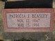 "Patricia Jeanette ""Pat/Patsy"" <I>Buckner</I> Beasley"