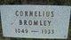 Cornelius Bromley