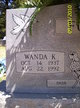 Profile photo:  Wanda Kathryn <I>Travis</I> Forbus
