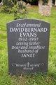 Profile photo: Dr David Bernard Evans
