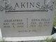 Edna Belle <I>Fields</I> Akins
