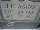 J C Akins