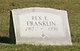 Rex E. Franklin