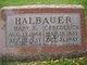 Mary Elizabeth <I>Rosevelt</I> Halbauer