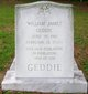 William James Geddie