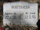 Profile photo:  Agnes Marie <I>Basham</I> Whitaker