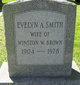 Evelyn Augusta <I>Smith</I> Brown