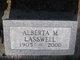 "Profile photo:  Alberta May ""Grandma"" Lasswell"