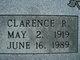 Profile photo:  Clarence R Jackson
