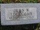 Profile photo:  John W. Edgecomb