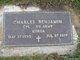 Profile photo:  Charles Benjamin, Jr
