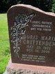 Profile photo:  Doris Marie <I>Giles</I> Crittenden