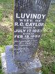 "Louvinda M. ""Luvindy"" <I>Pillow</I> Gaylor"