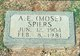 Profile photo:  A.E. Mose Spiers