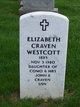 Elizabeth Elwell <I>Craven</I> Westcott