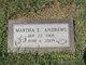 Profile photo:  Martha E <I>Elliott</I> Andrews