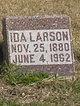 Ida <I>Fogue</I> Larson