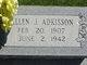 Profile photo:  Allen J. Adkisson