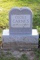 Profile photo:  Cecile Leona <I>Jacobs</I> Carnes
